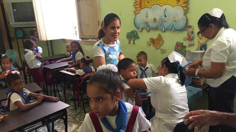 Destaca Unicef programa de inmunización a niños cubanos