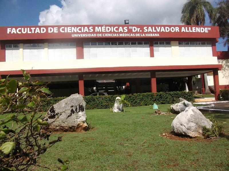 Una visita bien recibida en una Facultad de Ciencias médicas de La Habana