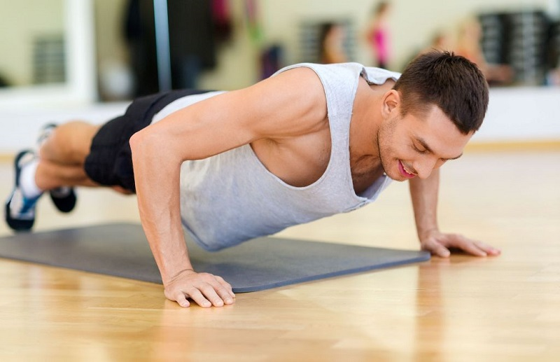 Doing pushups exercises is good for heart