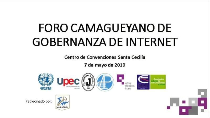 En audio: Foro camagüeyano de Gobernanza en Internet