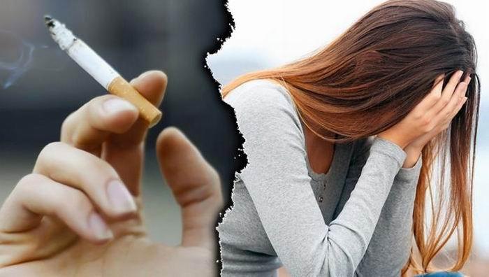 El tabaquismo aumenta el riesgo de depresión y esquizofrenia
