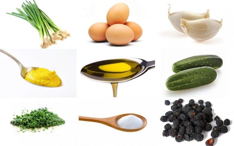 Con cebollino y pepino: una ensalada de primera