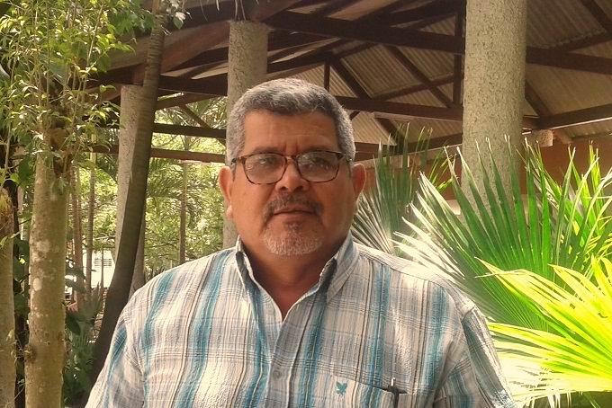 Master en Ciencias Amado Luis Palma, Jefe de la Unidad de Medio Ambiente en la provincia