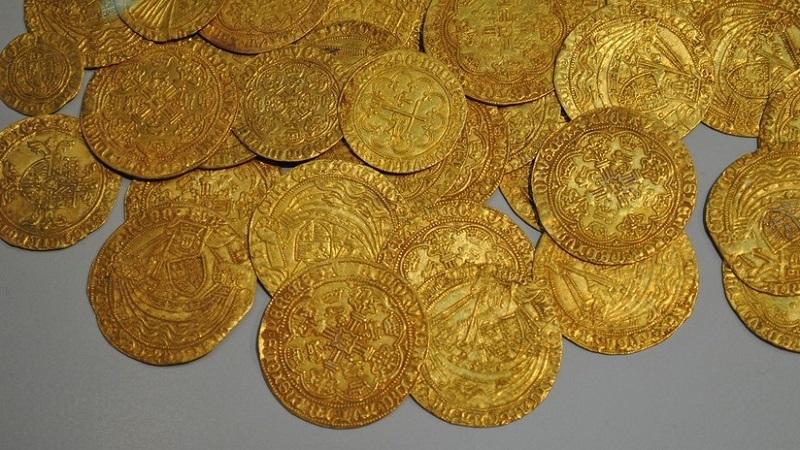 Descubren moneda de oro bizantinda. ¡Tiene 1 600 años!