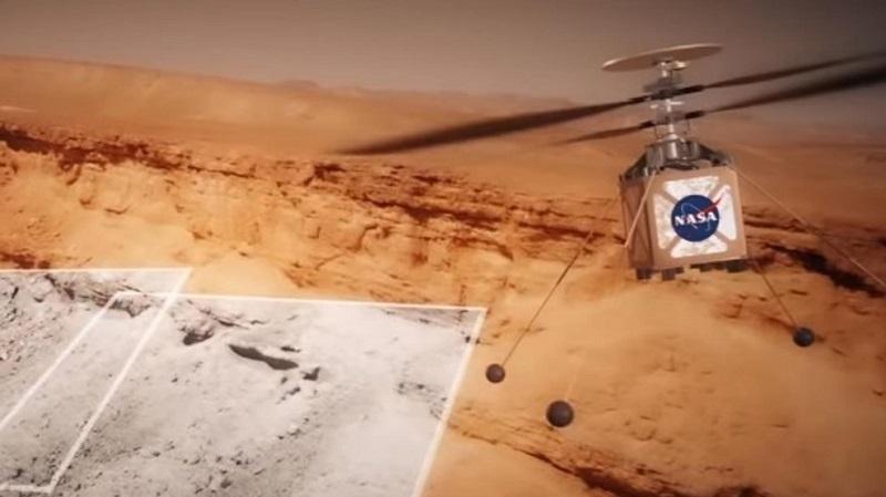 Ultiman detalles de un pequeño helicóptero con destino a Marte