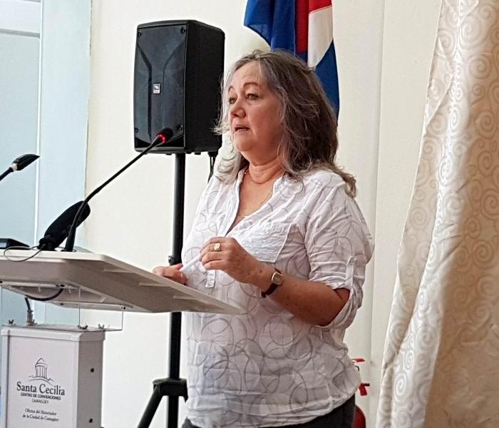 Directora Centro Investigaciones Medio Ambiente Camagüey, Nereyda Junco