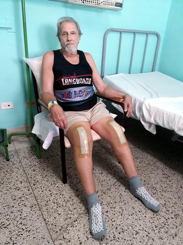 Alberto Armas Sáez de 69 años de edad estaba sentenciado a vivir sentado y acostado