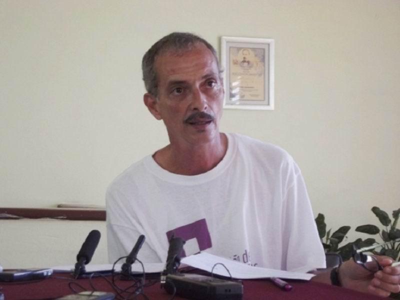 Presidente de la Unión de Informáticos de Cuba, (UIC), en esta provincia, Reynaldo Alonso