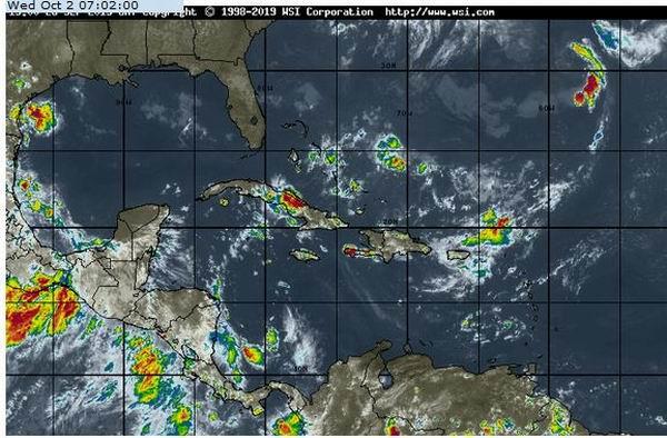 Instituto de Meteorología advierte sobre numerosas lluvias