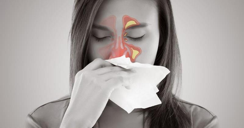 Cómo aliviar la sinusitis