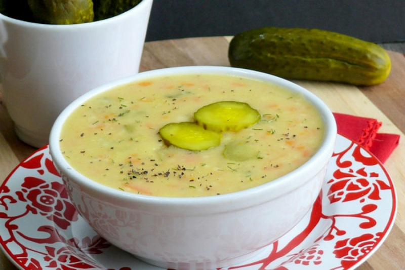 A Delicious Cold Cucumber Soup