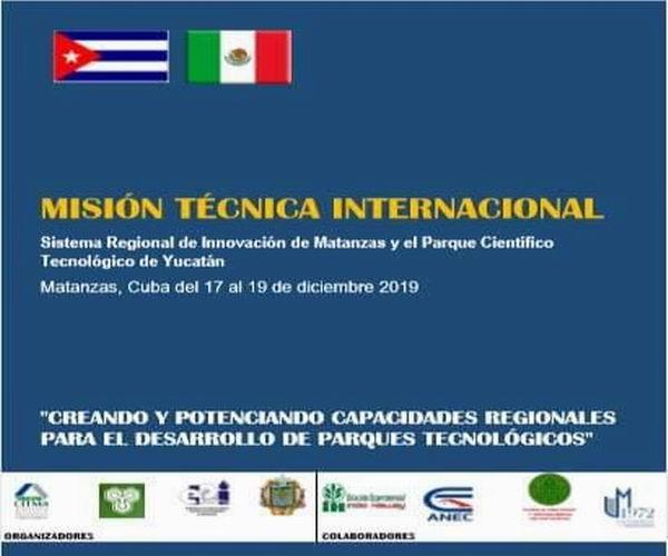 Parques tecnológicos de México y Matanzas inician misión técnica empresarial