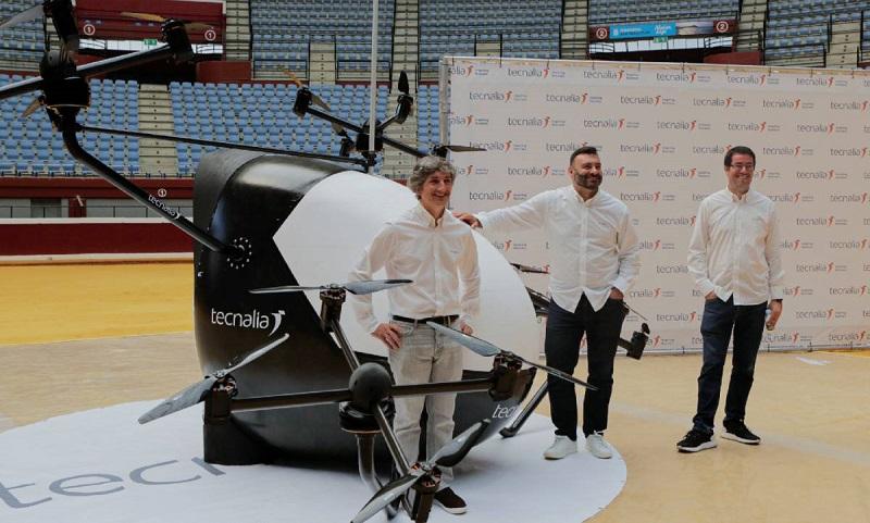 Así es el primer Aerotaxi fabricado en Tecnalia