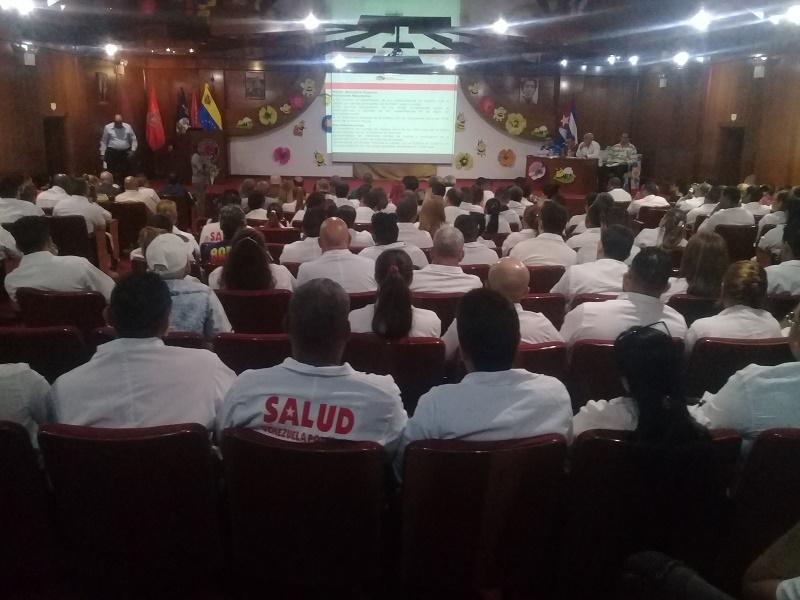 En Audio: Reconocen a colaboración cubana en Venezuela
