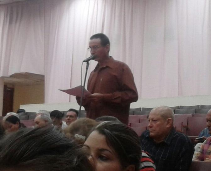Los delegados a la Asamblea provincial repudiaron le Ley Helms-Burton