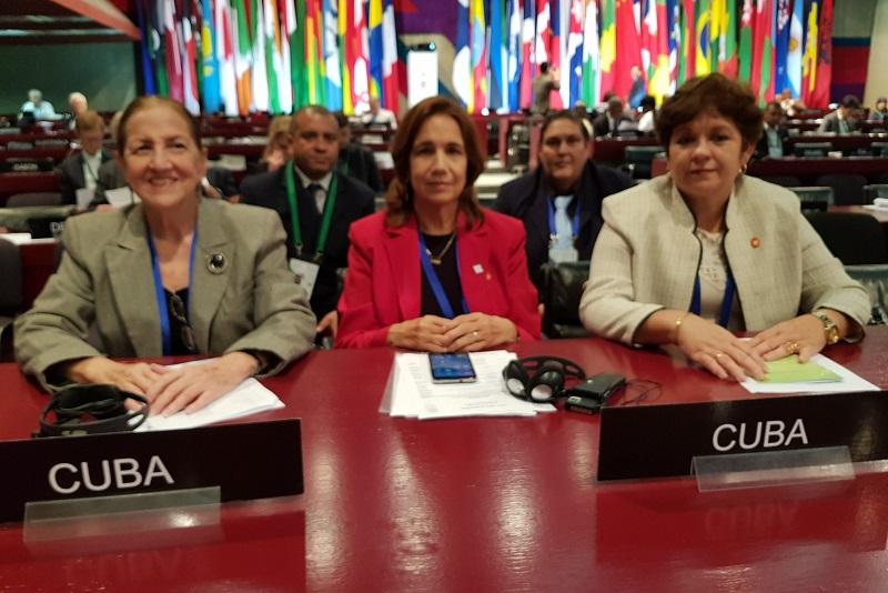 Cuba denounces US blockade in international parliamentary forum
