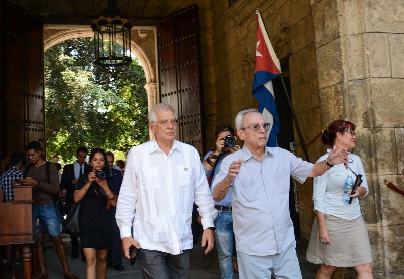 Spanish FM recognizes restoration of cultural heritage in Havana