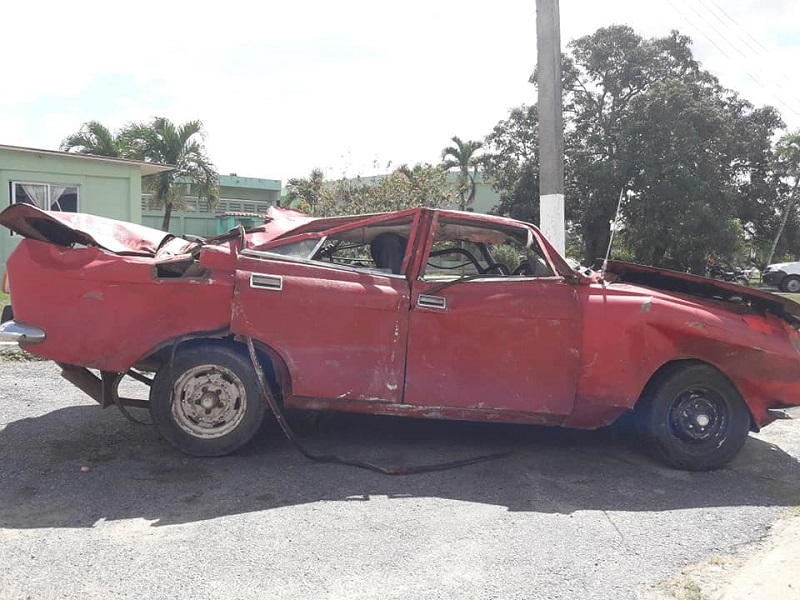 Accidente de tránsito en Pinar del Río deja cinco fallecidos y un lesionado