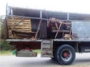 Accidente de tránsito en Songo la Maya con un muerto y cinco lesionados