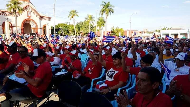 Ratifican en Camagüey compromiso con la Revolución