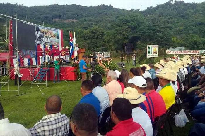 Cuba celebra aniversario 60 de Ley de Reforma Agraria
