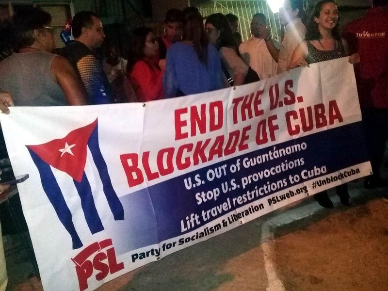 Intercambian delegados a Evento Antimperialista con cederistas en La Habana