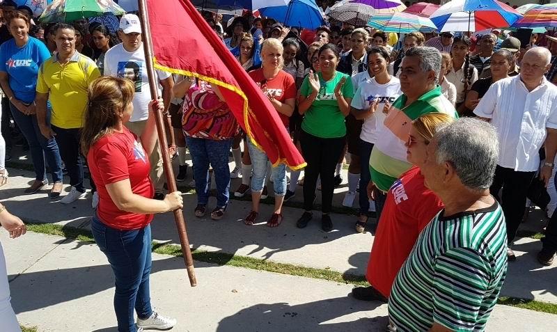 Desde Guáimaro, jóvenes ratifican apoyo a la Revolución