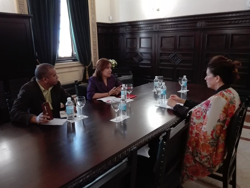 Cuban VP receives Croatian Ambassador in Havana