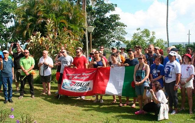 Brigada europea de solidaridad con Cuba inició programa en la Isla