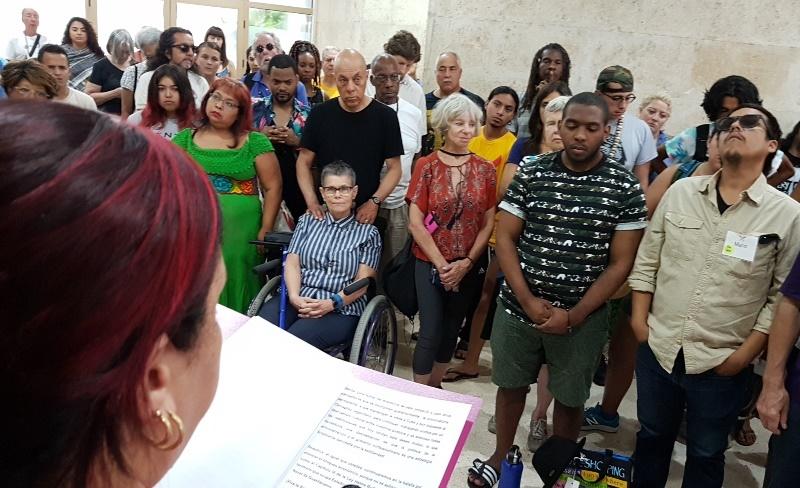 La solidaridad rompe las barreras del bloqueo yanqui