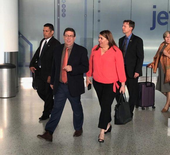 Canciller Bruno Rodríguez encabeza delegación cubana a la Asamblea General de la ONU