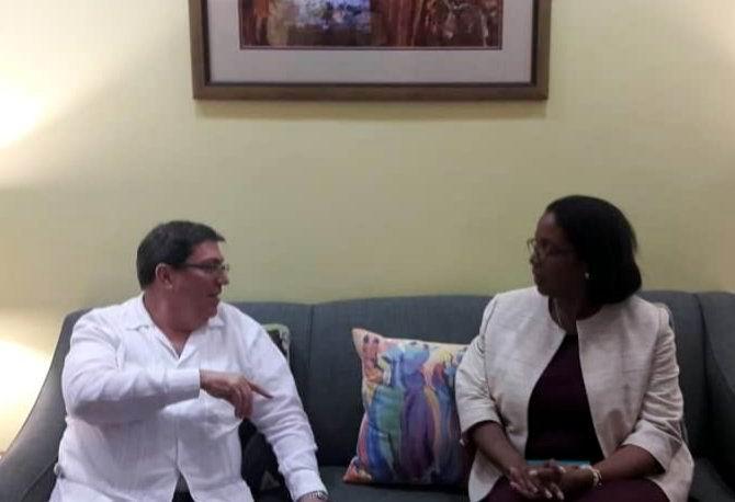 Canciller cubano inicia hoy visita oficial a Barbados