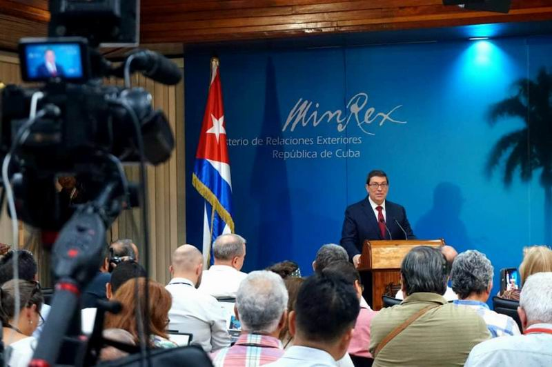 Bruno Rodríguez: Necesitamos tomar medidas ante las sistemáticas amenazas contra Cuba
