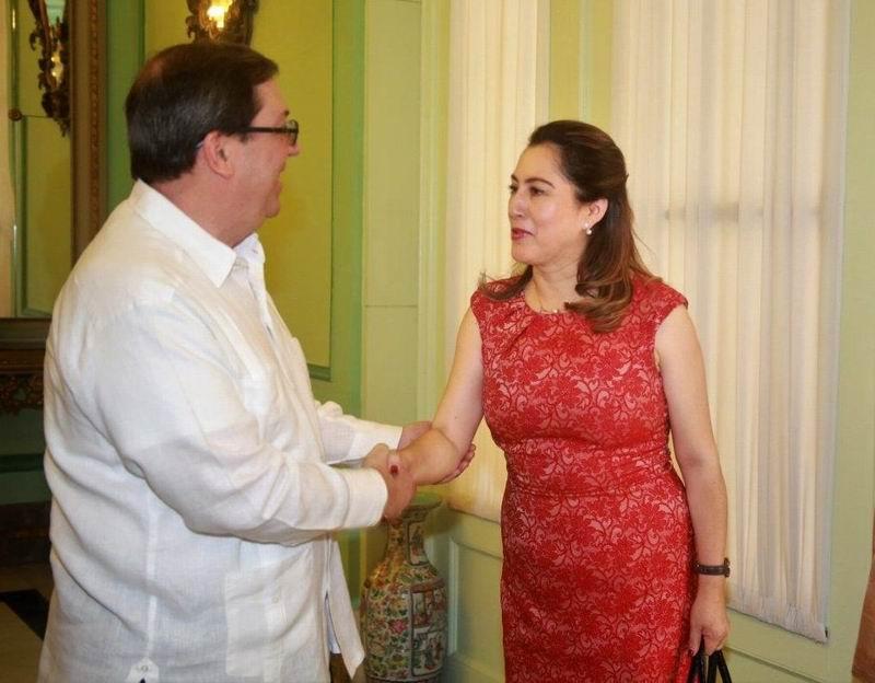 Recibió Bruno Rodríguez a vicecanciller de Bolivia