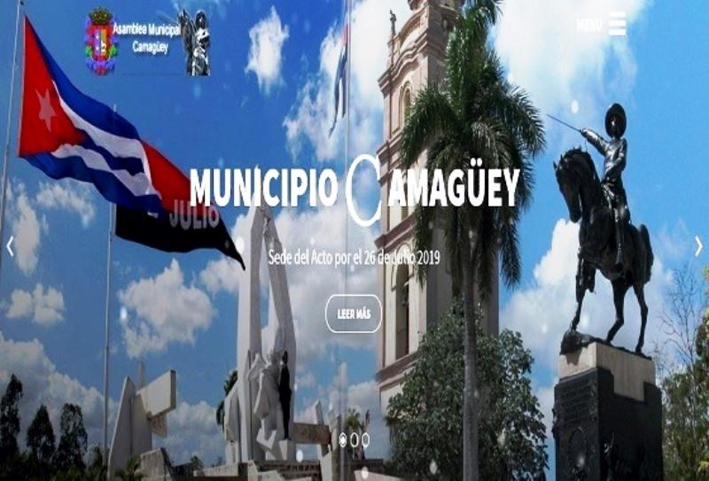 Asamblea municipal de Camagüey con sitio web
