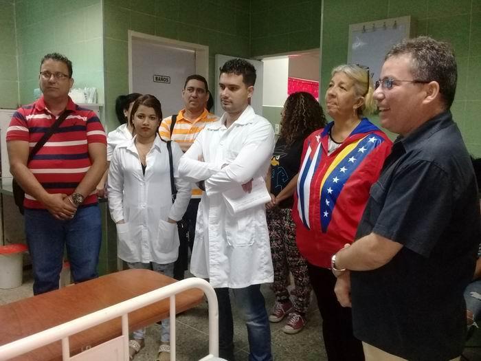 Preparan referendo constitucional colaboradores cubanos en Venezuela