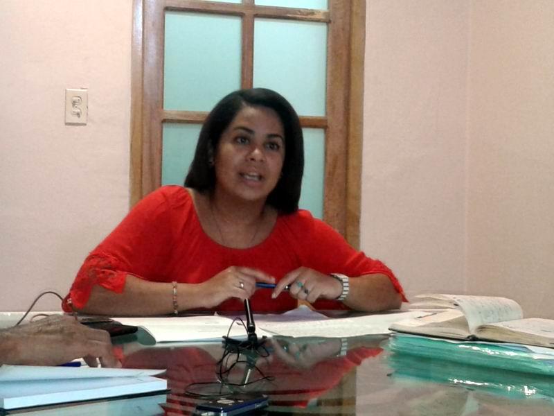Comunicadora del Movimiento Cubano por la Paz, Loraine Izquierdo