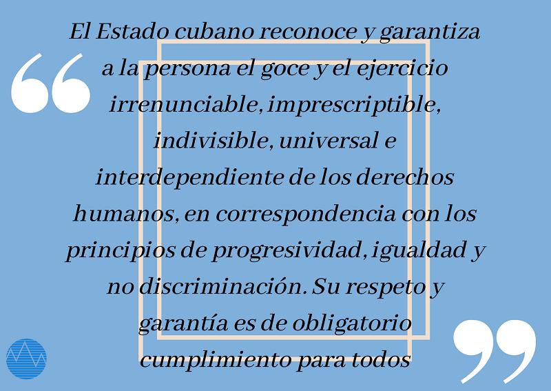Derechos humanos: razones en Cuba