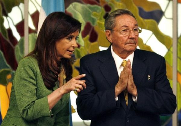 Recibió Díaz-Canel a expresidenta de Argentina