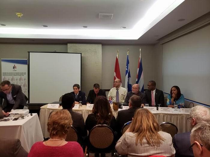 Delegación industrial de Cuba promueve negocios en Canadá