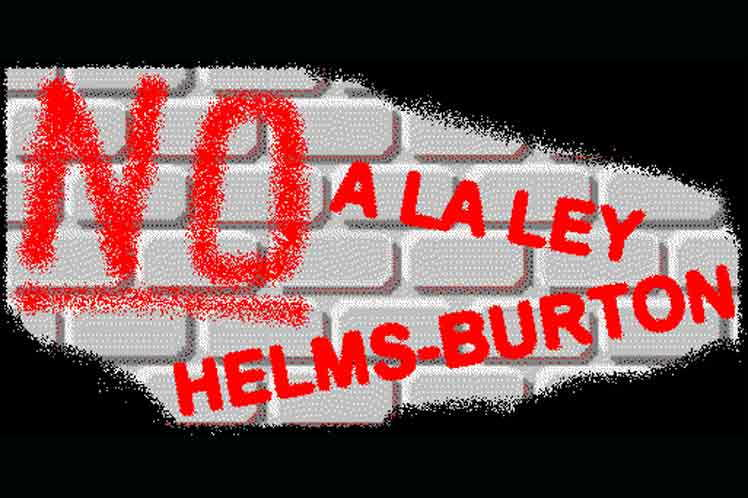 Afirma cancillería que Ley Helms-Burton refleja política colonial