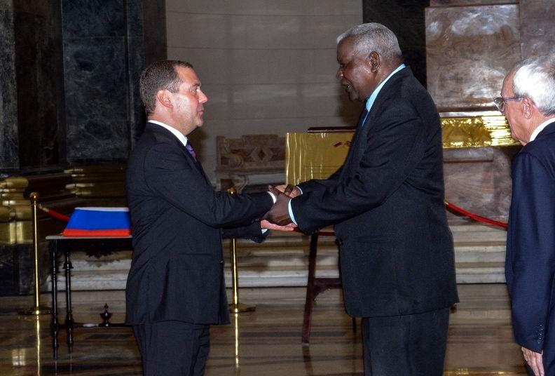 En audio: Primer Ministro ruso inaugura la cúpula del Capitolio Nacional de Cuba