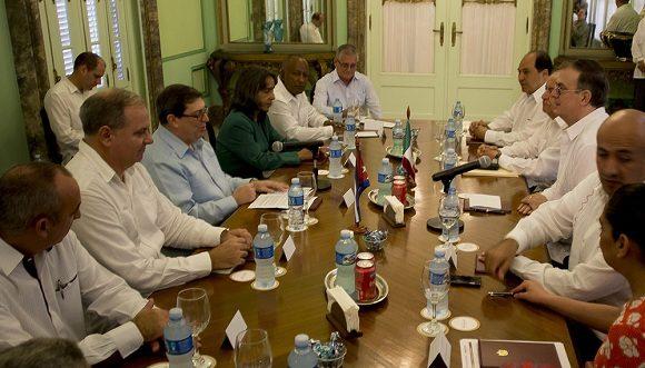 Afirma Canciller de México que inicia nueva etapa con Cuba