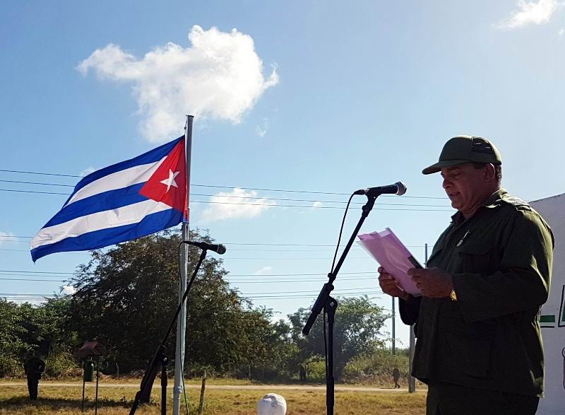 Presidente del Consejo de Defensa del municipio de Camagüey, Daniel Fuentes Milanés