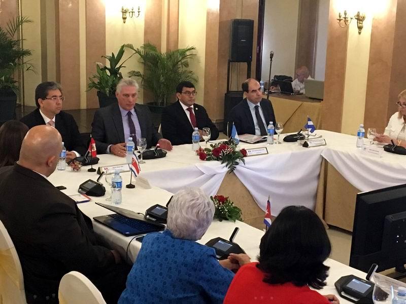 Participa Díaz-Canel en Asamblea General de Entidades Fiscalizadoras