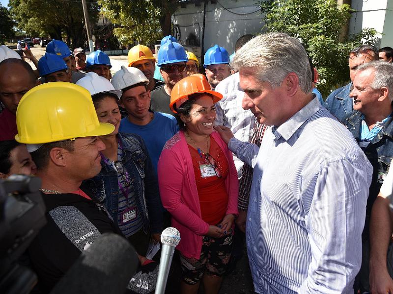 En Audio: Concluye Díaz-Canel visita gubernamental a Las Tunas