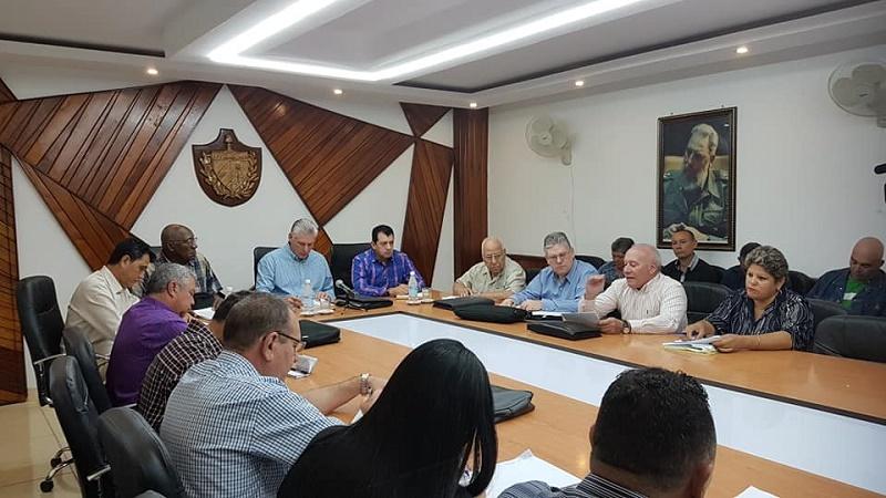 Concluye visita gubernamental a Las Tunas
