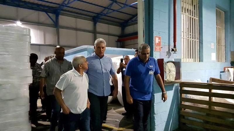Inicia Díaz-Canel visita gubernamental a Matanzas