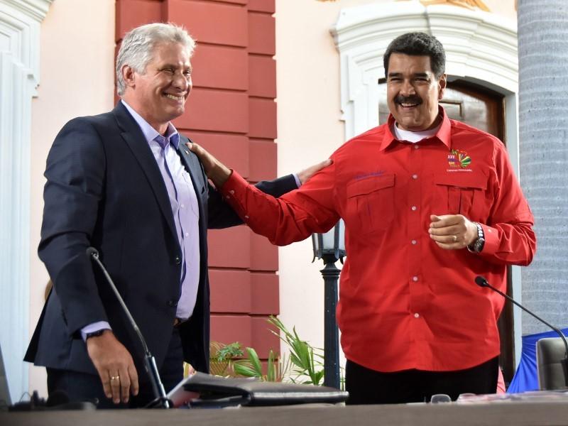 """Díaz-Canel: """"Venezuela es la primera trinchera de la lucha antimperialista"""""""