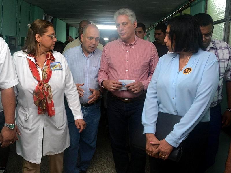 Miguel Díaz-Canel Bermúdez en Guantánamo